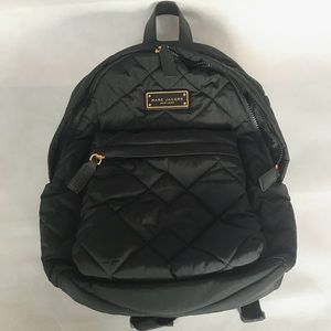 MARC JACOBS Nylon Quilted Backpack NWT